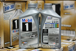 10 Quart 9 46l Mobil 1 Engine Oil 0w40 0w20 0w30 5w30 Esp0w 30 10w40 5w50 15w50