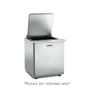 Traulsen Ust279 l sb 27 Refrigerated Counter With Stainless Steel Back