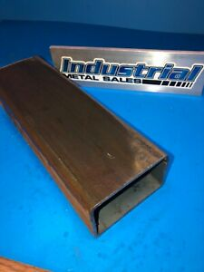 2 1 2 X 4 X 24 long X 3 16 Wall Steel Rectangle Tube 2 5 X4 x 188 Box Tube