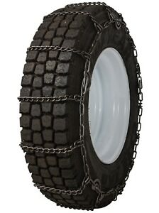 11 22 5 11r22 5 Tire Chains 5 9mm Link Cam Snow Ice Traction Commercial Truck
