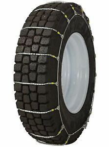 295 75 22 5 295 75r22 5 Tire Chains Cobra Cable Snow Traction Commercial Truck