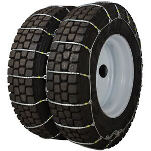 37x12 50 16 5 37x12 50r16 5 Tire Chains Cobra Cable Dual triple Commercial Truck