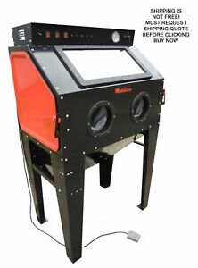 New Redline Re 40 Abrasive Sand Blasting Blaster Blast Cabinet Glass Bead Media