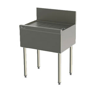 Perlick Ts22 22 Underbar Drainboard With Embossed Top