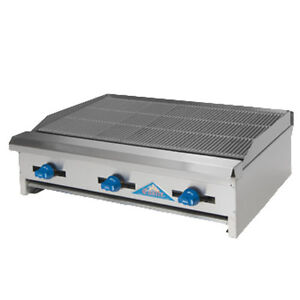 Comstock Castle Erb30 30 Countertop Gas Charbroiler With Inverted v Radiants