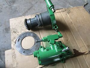 Oliver Tractor 1755 1855 1955 2255 Hydraulic Lube Charge Pump And Pressure Valve