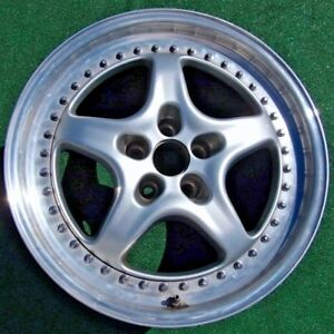 Genuine Oem Factory Ferrari Speedline 355 F355 2 Piece Modular 18 10 Rear Wheel