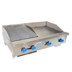 Comstock Castle Fhp42 24 1 5rb 42 Gas Griddle charbroiler Iron Radiants