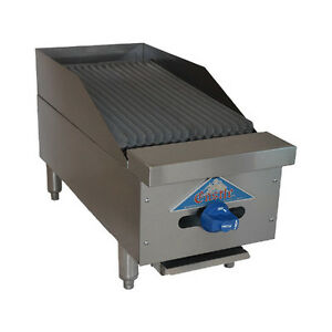 Comstock Castle 3212rb 12 Countertop Gas Charbroiler