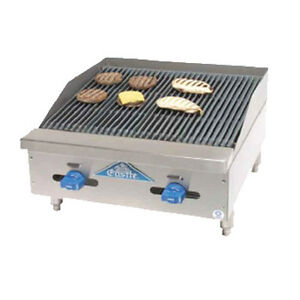 Comstock Castle 3224rb 24 Countertop Gas Charbroiler