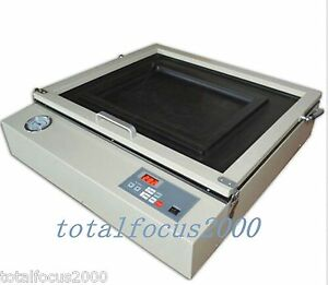 50cmx60cm 20 x24 Precise Vacuum Uv Exposure Unit Screen Printing Machine New