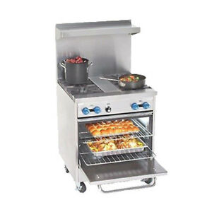 Comstock Castle F326 1 5rb 30 Gas Restaurant Range With Iron Radiants