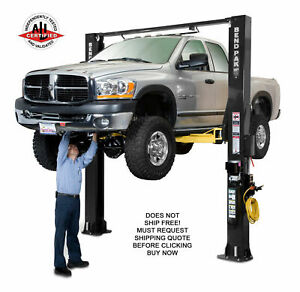 New Bendpak Xpr 10s 2 Post Car Truck Hydraulic Automotive Vehicle Shop Lift
