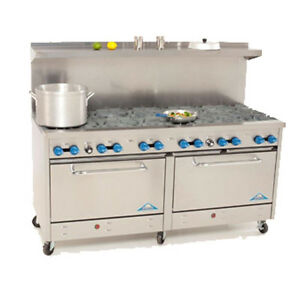 Comstock Castle 2f330 72 Gas Restaurant Range