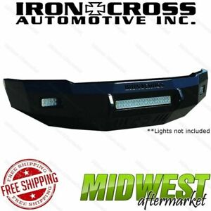 Iron Cross Low Profile Front Bumper Fits 2007 2014 Sierra 2500 3500 Hd
