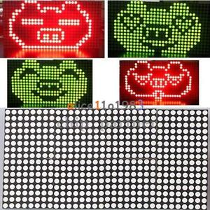 16x32 Dot Matrix Diy Kit Red Green Dual color Control Led Display Module