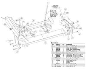 Ford Plow Mount as well  on fisher snow plow push plates