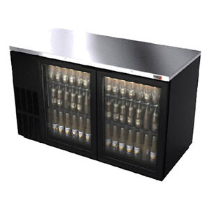 Fagor Fbb 59g 59 5 Refrigerated Back Bar Cabinet With 2 Glass Doors
