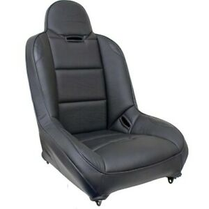 Off Road Suspension Seat Black Vinly With Carbon Fiber Look Dunebuggy