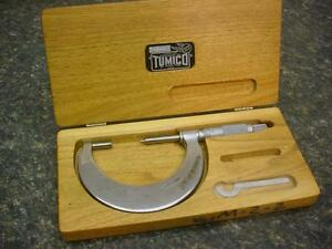 Tumico T 2 b Tubular Micrometer Feather Touch M22 2 St James Minn D146a