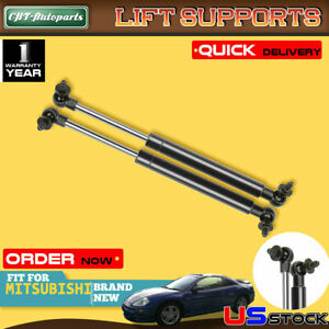 2x Tailgate Trunk Lift Supports Struts For Mitsubishi Eclipse 2001 2004 4137