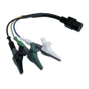 Ideal 61 183 Alligator Clip Adapter For Suretest Circuit Analyzers