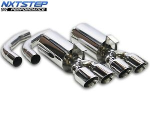 1986 1991 Nxt Step Performance C4 Corvette Axle Back Exhaust System