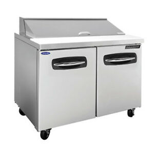 Norlake Nlsp36 10 36 38 Advantedge Sandwich salad Refrigerated Counter 10 Pans