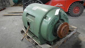 500 Hp Siemens allis Electric Motor 1800 Rpm 507us Frame Dpbb 4160 V