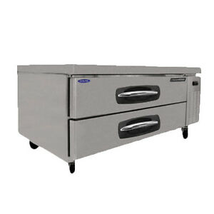 Nor lake Nlcb53 53 Refrigerated Base Equipment Stand 2 Drawers