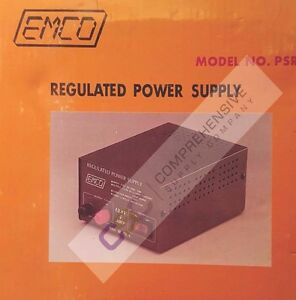 Psr 4 Emco 4a Amp 13 8v Volts Regulated Power Supply New