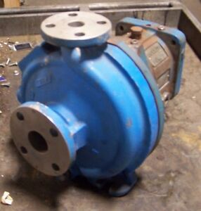 Rebuilt Goulds 3196 Centrifugal Stainless Steel Pump 1 X 1 50 8 20 Gpm 7 8