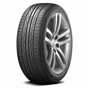 2 New 245 45r17 Hankook Ventus V2 H457 Tires 45 17 2454517 45r R17 Treadwear 500