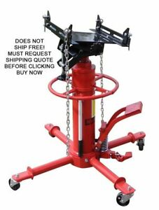 New Redline 1 100 Lb Tj500 Double Stage Under Hoist Transmission Jack Lift