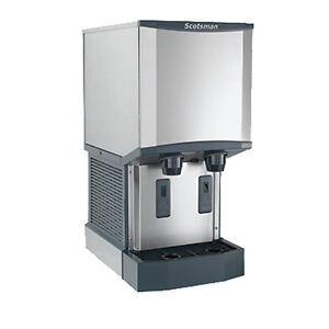 Scotsman Hid312a 1 Nugget style Meridian Ice Machine dispenser 260 Lb Capacity