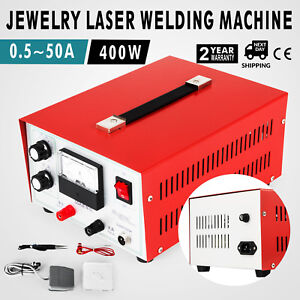 Jewelry Laser Welding Machine 0 5 50a Pulse Sparkle Spot Welder Jewelry Tool