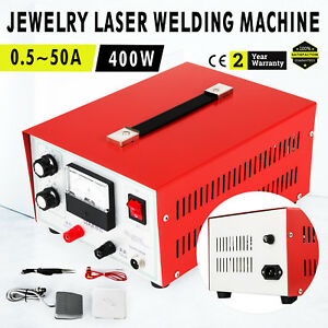 Jewelry Laser Welding Machine 0 5 50a Multifunction Pulse Sparkle Spot Welder