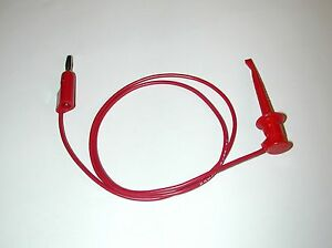 Lot Of 38 Pomona 3782 24 2 Standard Banana Plug To Minigrabber Clip Patch Cords