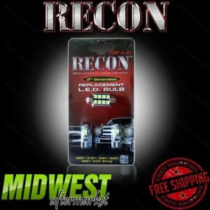 Recon High Power Led Interior Dome Lights For 2009 2012 Dodge Ram 1500 2500 3500