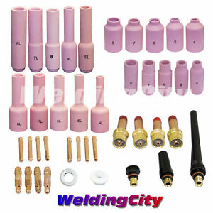 Tig Welding Collet gas Lens Kit 040 1 8 Torch 17 18 26 T27b Us Seller Fast