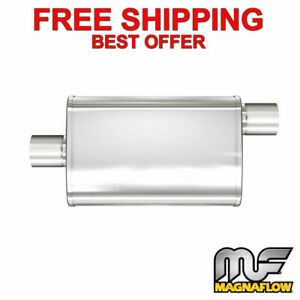 Magnaflow Xl 3 Chamber Stainless Steel Turbo Muffler 3 C O 18 Body 13259