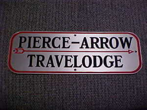 Pierce Arrow Travel Trailer Name Plate Emblem 1936 37