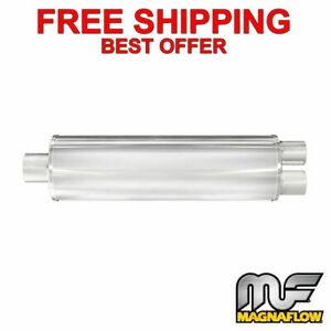 Magnaflow Xl 3 Chamber Stainless Steel 2 5 2 5 Dual 27 Body 13761