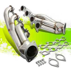 Stainless Racing 2x4 1 Manifold Header Exhaust For For 11 14 Mustang Gt Boss 302