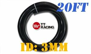 3mm 3 32 Silicone Vacuum Tube Hose Tubing Pipe Price For 20ft Black