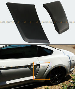 For 2015 2020 Ford Mustang Gt Style Rear Fender Penal Flare Side Scoops Vents