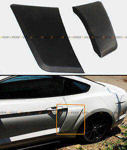 For 2015 2019 Ford Mustang Gt Style Rear Fender Penal Flare Side Scoops Vents