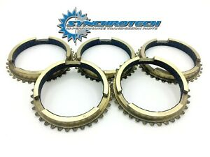 Tko Carbon Synchro Blocker Ring 1 5 Set Fitting Tremec 3550 Tko500 Tko600