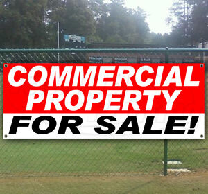 Commercial Property For Sale Advertising Vinyl Banner Flag Sign Many Sizes