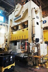 600 Ton Usi Clearing Straight Side Presses For Sale Used 6 Available